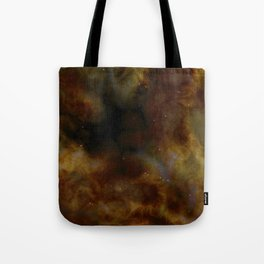 Space Clouds and Stars of the Universe Tote Bag