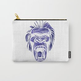 GORILLA KING KONG - Blue Carry-All Pouch