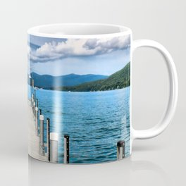 Stepping to the Sea Coffee Mug
