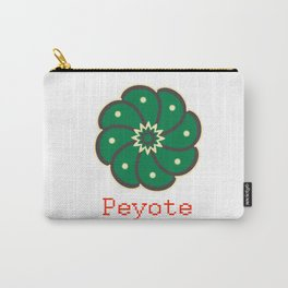 Peyote Cactus Carry-All Pouch