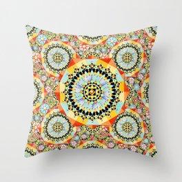 Bijoux Millefiori Throw Pillow