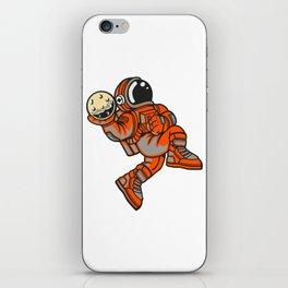 Space Dunk iPhone Skin