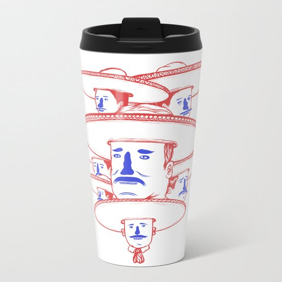 The Mariachi Band Metal Travel Mug