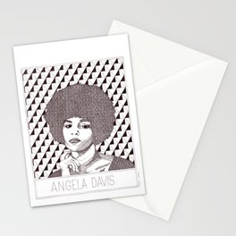 Angela Davis Portrait Stationery Cards