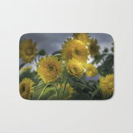 Beautiful Sunflowers Bath Mat