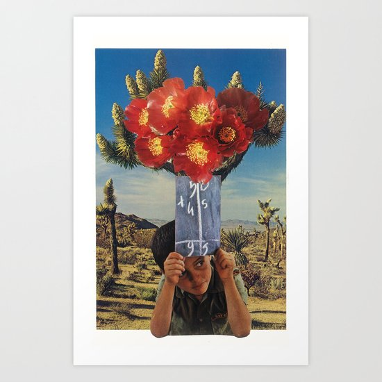 sonic bloom Art Print