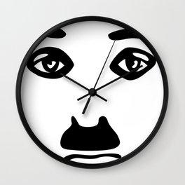 Silent Stars - Charlie Chaplin Wall Clock
