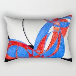 Frantisek Kupka Fugue in Two Colors Rectangular Pillow