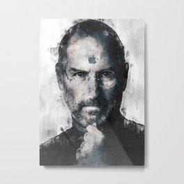 Steve Jobs sketch Metal Print