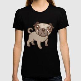 Pug Puppy Cartoon T-shirt