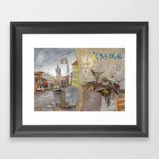Private Territory Framed Art Print