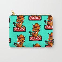 DANG logo plus Lono fingerpuppet Carry-All Pouch