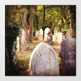 Highgate Cemetery Canvas Print