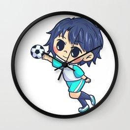 Handball Young man sports gift Wall Clock