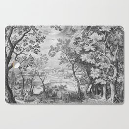 Landscape with Judah and Tamar Cutting Board