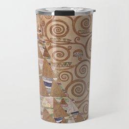 Gustav Klimt - The Expectation Travel Mug
