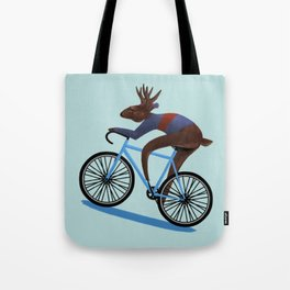 'Tis the season to be cycling Tote Bag