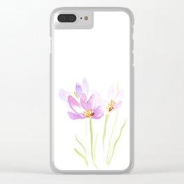Saffron Clear iPhone Case