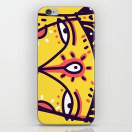 Mustard Queen iPhone Skin