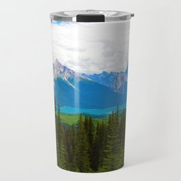 Bald Hills Hike in Jasper National Park, Canada Travel Mug