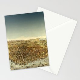 San Francisco Waterfront Stationery Cards
