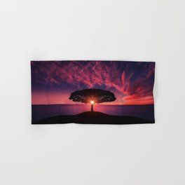 Tree Of Life Hand & Bath Towel