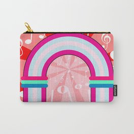 Musical Notes Archway Carry-All Pouch