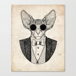 Hipster I Canvas Print