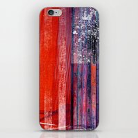 flag iPhone & iPod Skins featuring Flag by DAVID BIRKBECK