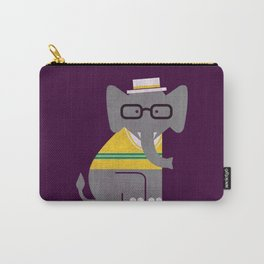 Rodney the preppy elephant Carry-All Pouch