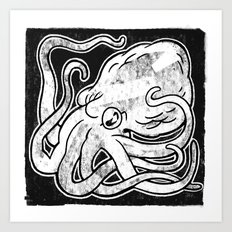 Octopus Print Art Print