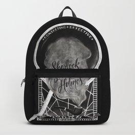 Sherlock Holmes Chalkboard Backpack