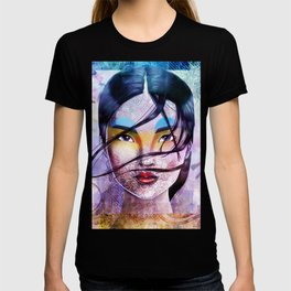 Grunge Asian Beauty T-shirt