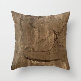Nickel face Throw Pillow