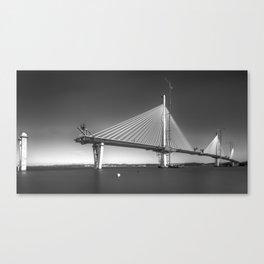 Queensferry Crossing Under Construction Canvas Print