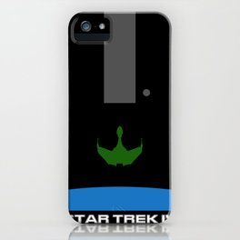 Trek IV: The Voyager Home Minimalist Poster iPhone Case