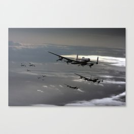 Boulogne and Back Canvas Print