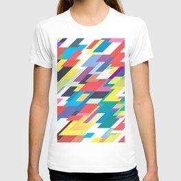 Layers Triangle Geometric Pattern T-shirt