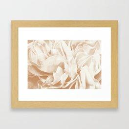 Cafe Au Lait Dream #2 #rose #floral #decor #art #society6 Framed Art Print