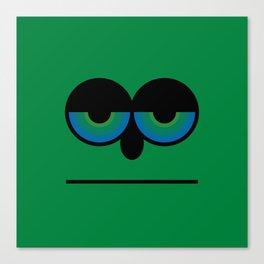 Mister Green Canvas Print