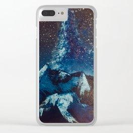 Journey Unending Clear iPhone Case