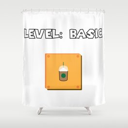 Level: Basic Shower Curtain