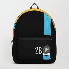 2B Or Not 2B For A Engineer graphic Backpack