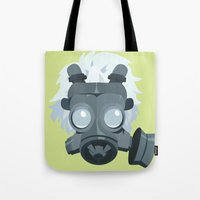 clear Tote Bags featuring Clear. by Dani Does Art