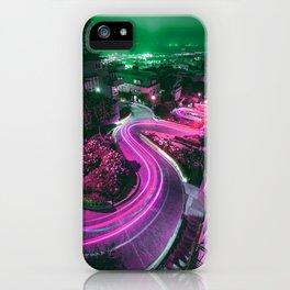 Purple Lombard Street San Francisco iPhone Case