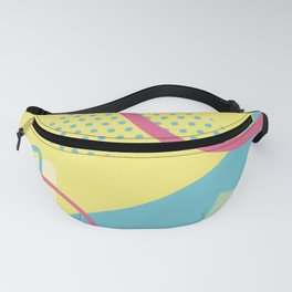 San Jose 1991 - Memphis Throwback Retro 1990s 80s Trendy Hipster Pattern Pastel Fanny Pack