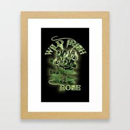 WILD IRISH ROSE 2.0 Framed Art Print