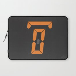 zero hours night glance Laptop Sleeve