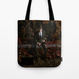 Last night I dreamt you were an axe murderer Tote Bag