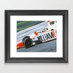 Speedy Dan Framed Art Print